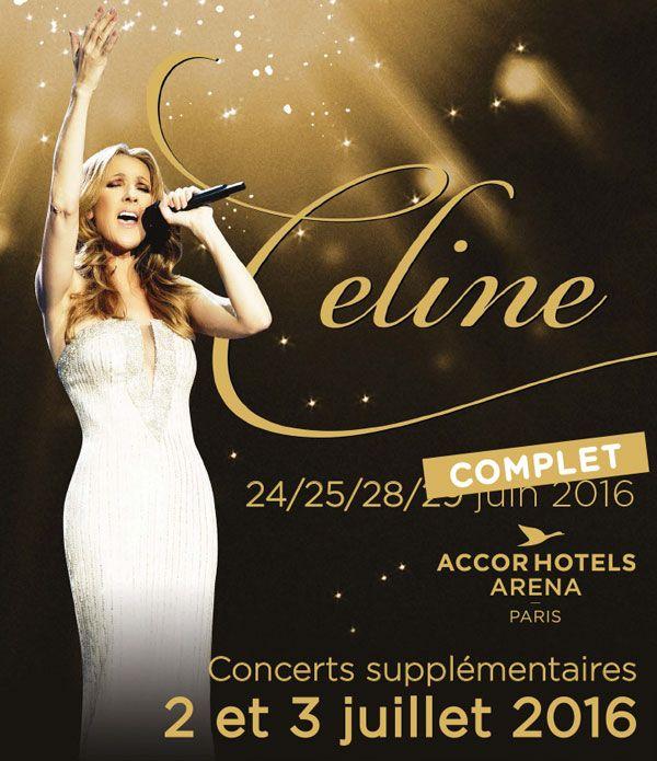 Celine Dion en Concert Paris 2016. #fashion #concert #tour #style #songs #celine #dion