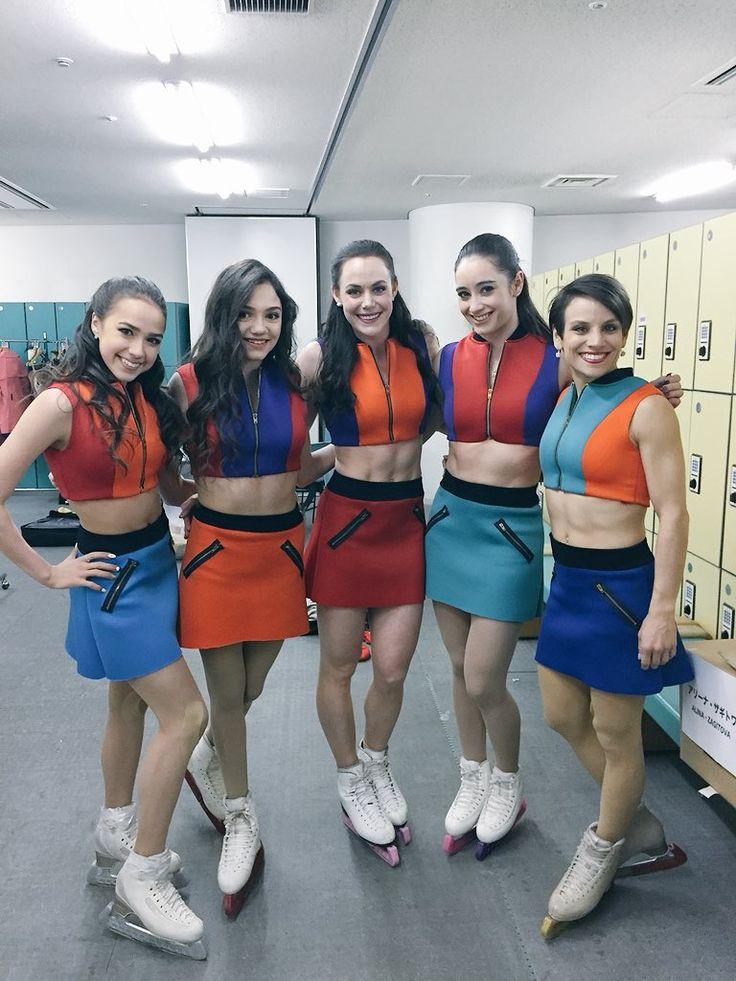 "Tessa Virtueさんのツイート: ""The girls of @starsonice Japan! x 5 #JSOI… """