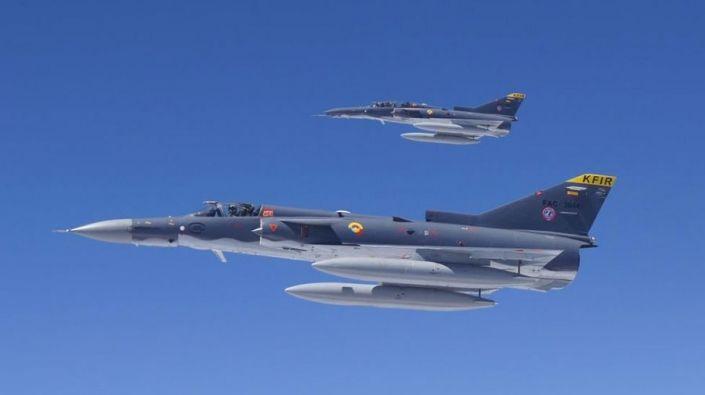Fuerza Aérea Colombiana se pronunció por sobrevuelos de aviones Kfir
