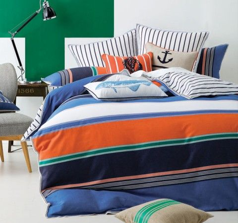 Linen House In The Navy Quilt Cover Set