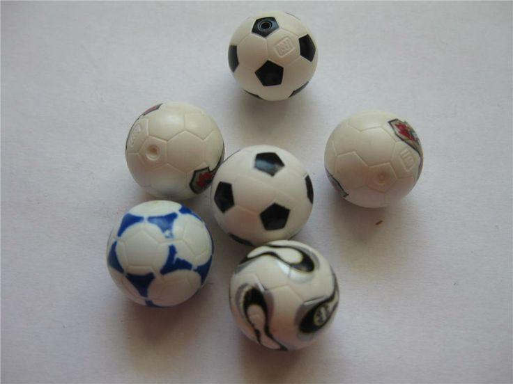 Lego Figurer Tillbehör 6st fotbollar 11/6-31 på Tradera