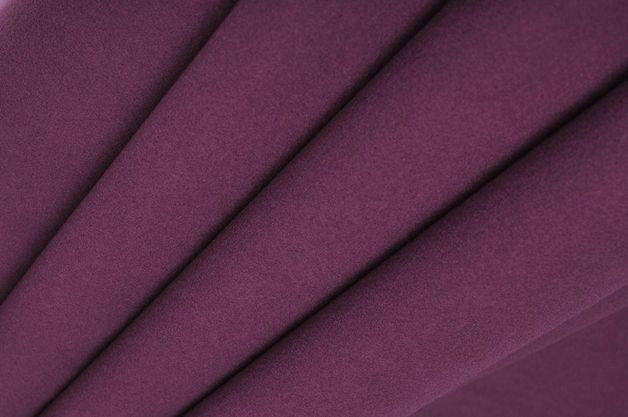 Tessuto viscosa+poliestere- 50 cm Wine Fleece - un prodotto unico di DinoFabric su DaWanda