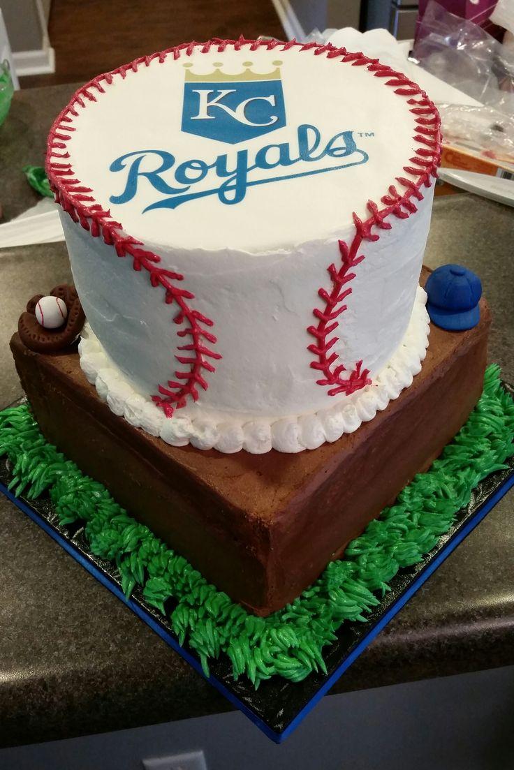 19 best KC Royals cakes images on Pinterest Kansas city royals