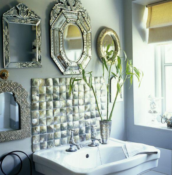 Venetian Mirror Photo Bathroom
