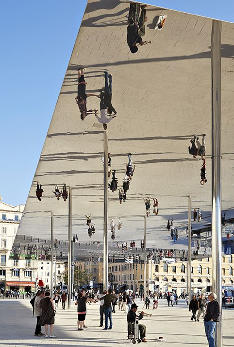 Vieux Port Pavilion, Marseille, France by Foster + Partners
