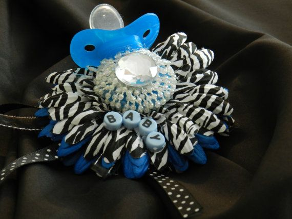 Baby Shower Corsage It's a boy baby shower by AdreamFulfilled, $18.00