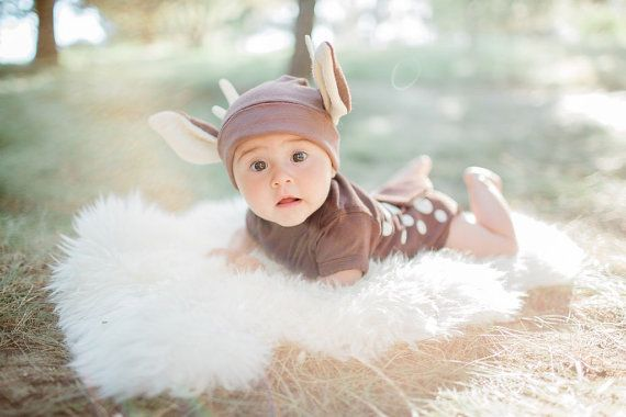 Baby Costume Baby Deer Costume Fawn by TheWishingElephant on Etsy