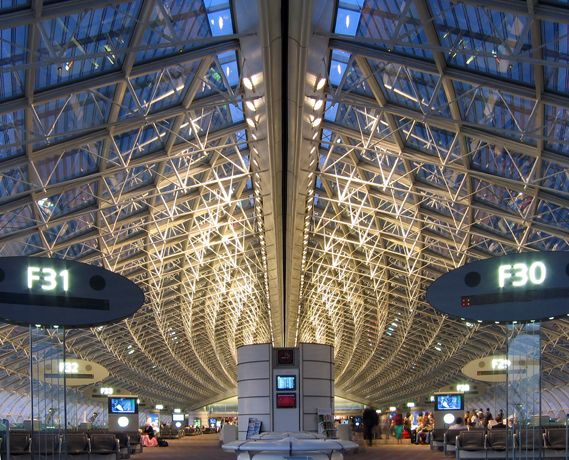 Paris Roissy Charles de Gaulle Airport... landed there few times....... changing between terminals is ... ouuuuff!