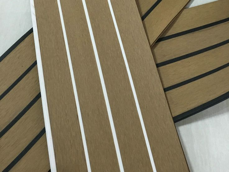 Composite teak board new york supplier synthetic teak for Synthetic deck material
