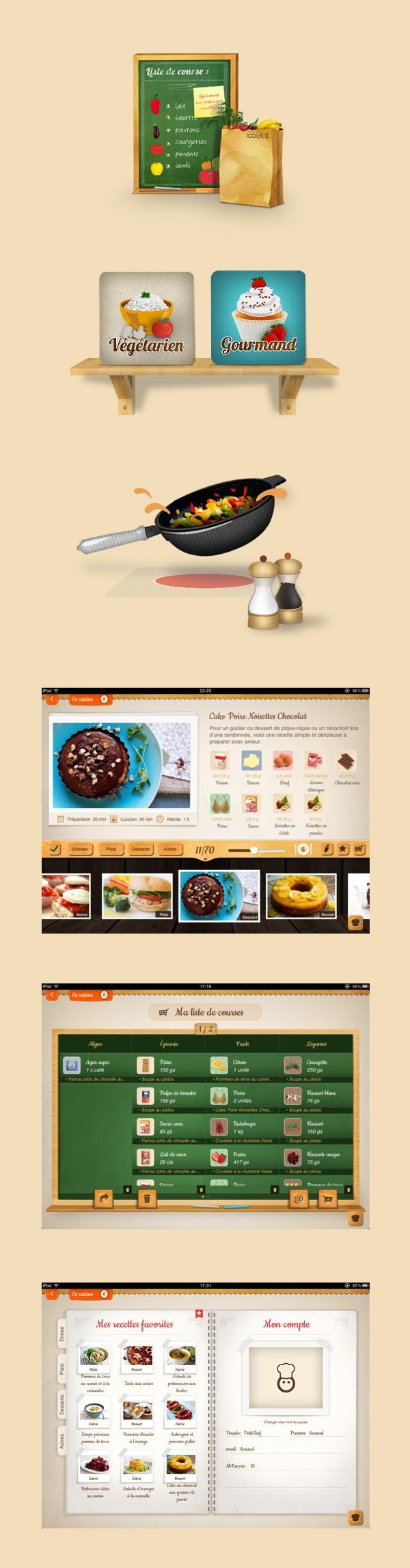 iCook'it iPad App