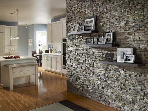 10 Wunderbare Ideen Die Wände Mit Steinen Zu Dekorieren!   DIY Bastelideen