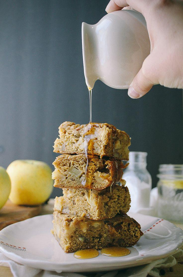 maple apple bars.