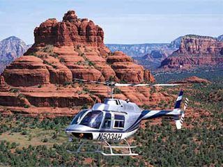 Going on a helicopter ride- especially over the Las Vegas Strip or through the Grand Canyon!