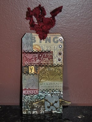 Creations By Christie: Compendium Books, Scrapbook Tags