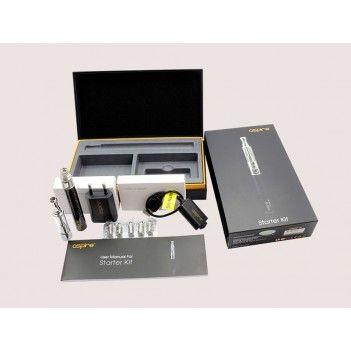 """De Aspire starter kit is gemaakt van een Aspire G-Power 900mAh batterij en een K1 glassomizer.De K1 is een nieuwe generatie van glassomizer, die de Aspire """"BVC"""" (Bodem Verticale Coil) verstuiver-technologie gebruikt. Deze nieuwe technologie is ontworpen om langer mee, zonder verlies van de pure smaak van e-vloeistoffen te verliezen. https://www.e-rokershop.nl"""