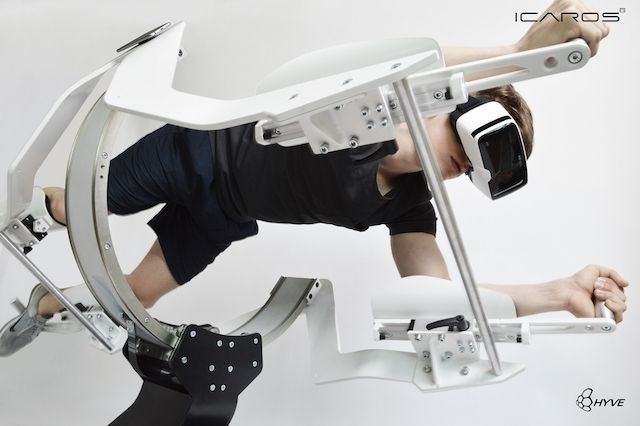 Why go to the gym when you can work out in outer space?