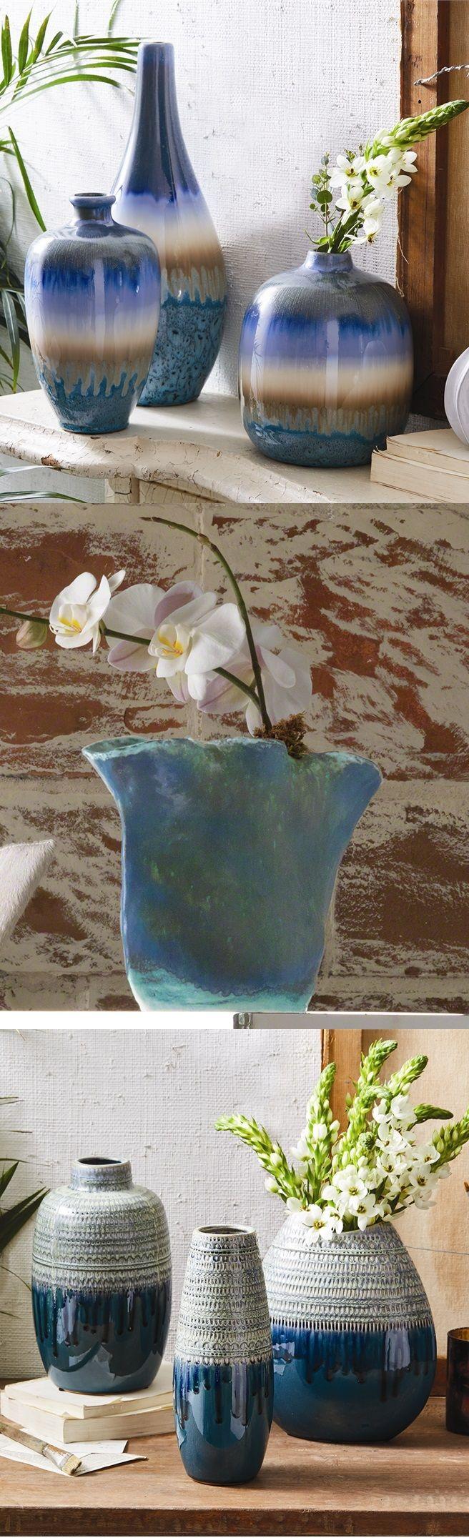 100 teal vases for sale modern vases allmodern