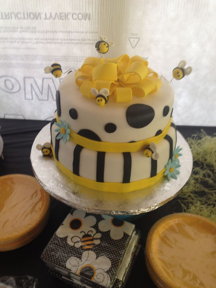 bumble bee baby shower cake baby shower ideas pinterest