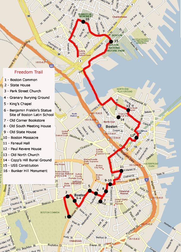 Image Detail for - Walk: Boston Freedom Trail & Boston Harbor Cruise