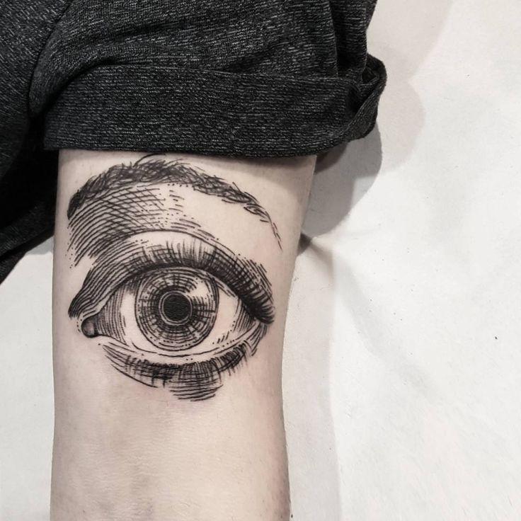 Best Body Tattoo S Linework Eye Eye Tattoo Ink Tattoo Tattoos