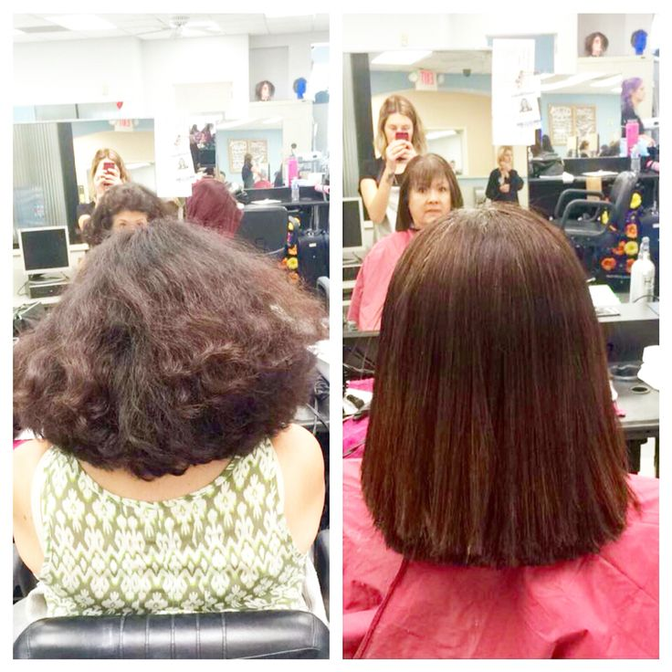 Keratin Chemical Straightening ️ Made By Sharon ️