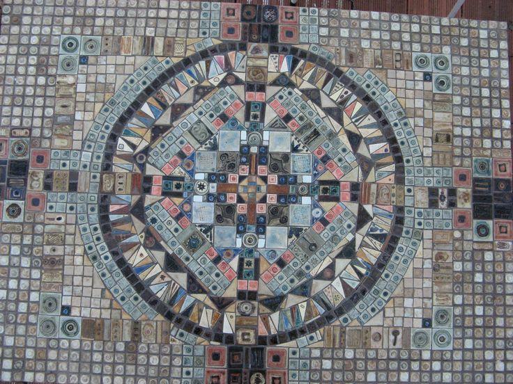 Installation. Wall unit. Floor unit. Mosaic design.