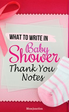 Baby Shower Thank You Notes: How To Write And What To Write (With Examples) #babyshower