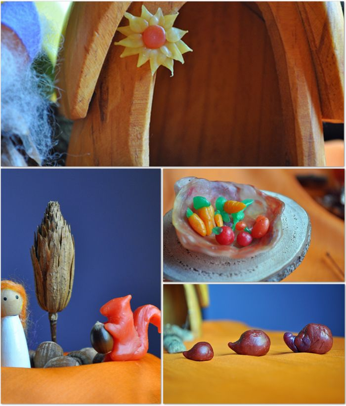Creating a Seasonal Nature Table  by Curly Birds