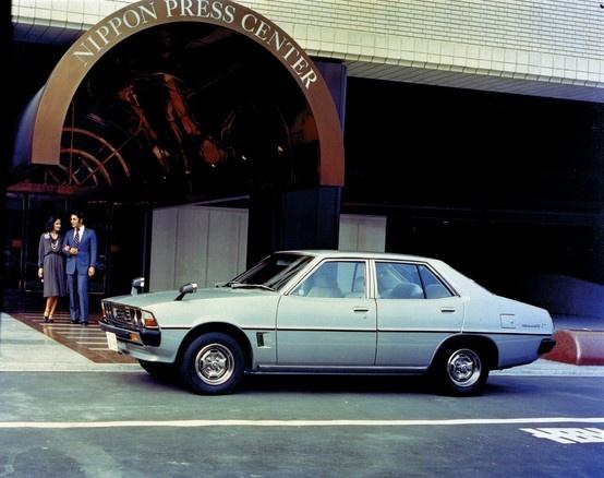 Mitsubishi Galant Sigma (1976)