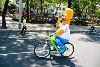 Hotdoggin Homer
