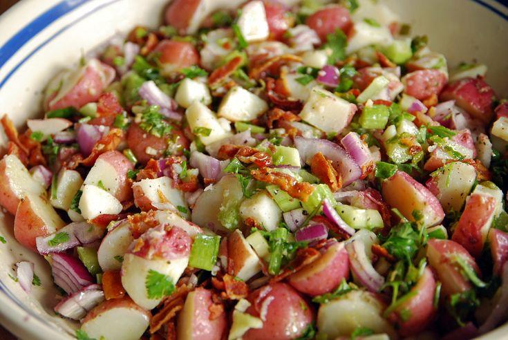 salad without mayonnaise | HEAT OF THE SUMMER POTATO SALAD RECIPE | BEACHPEACH