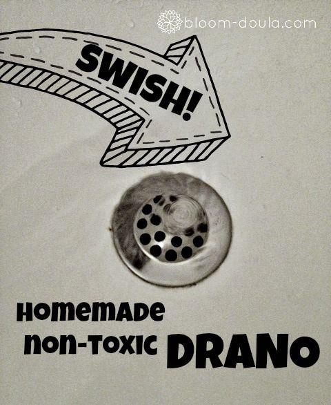 DIY: Non-toxic Drano