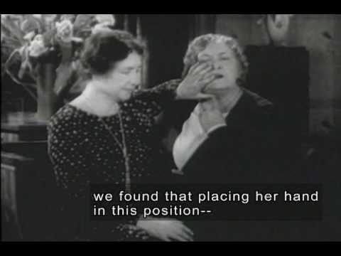 Rare footage of Helen Keller and Anne Sullivan.