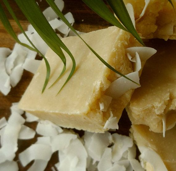 Coconut Cream Soap by AllsortsofSoaps on Etsy