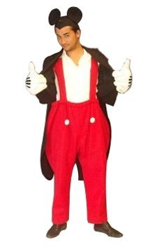 Mickey Mouse, l'ambassadeur de la Walt Disney Company.   Le costume idéal pour vos soirées déguisées sur les thèmes «dessins animés», «bandes dessinés», «héros», «Walt Disney», «animaux» ou «jeux vidéo».