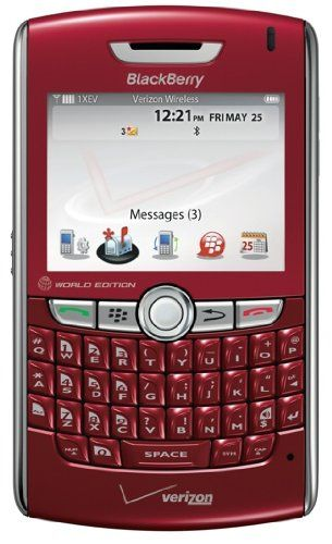 Buy Red BlackBerry 8830 Bluetooth EVDO Phone for Verizon REFURBISHED for 149.99 USD | Reusell