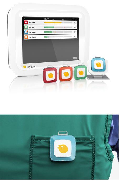 Dosimeter design By Shift Design & Strategy www.shiftdesign.se