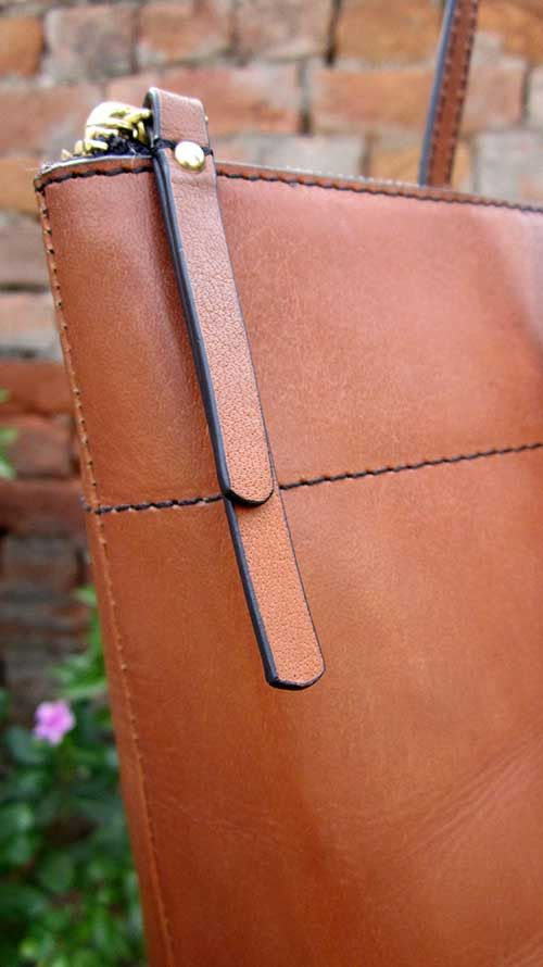 Pumpkin Anabelle, Chiaroscuro, India, Pure Leather, Handbag, Bag, Workshop Made, Leather, Bags, Handmade, Artisanal, Leather Work, Leather Workshop, Fashion, Women's Fashion, Women's Accessories, Accessories, Handcrafted, Made In India, Chiaroscuro Bags - 6