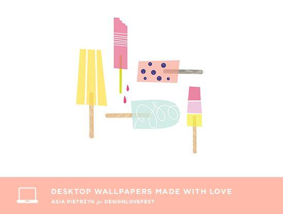 Free desktop design by asia pietrzyk    www.designlovefest.com