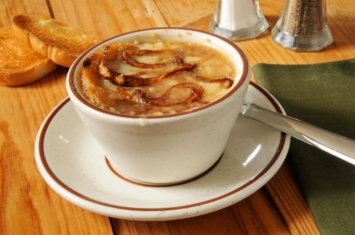 ... Soups - Onion on Pinterest | French onion soups, Bacon soup and Irish