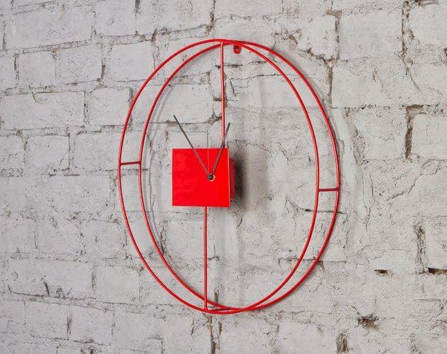 3 étonnantes horloges murales modernes decodesign / Décoration