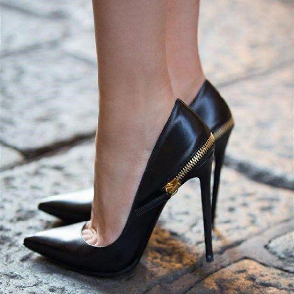 office black heels