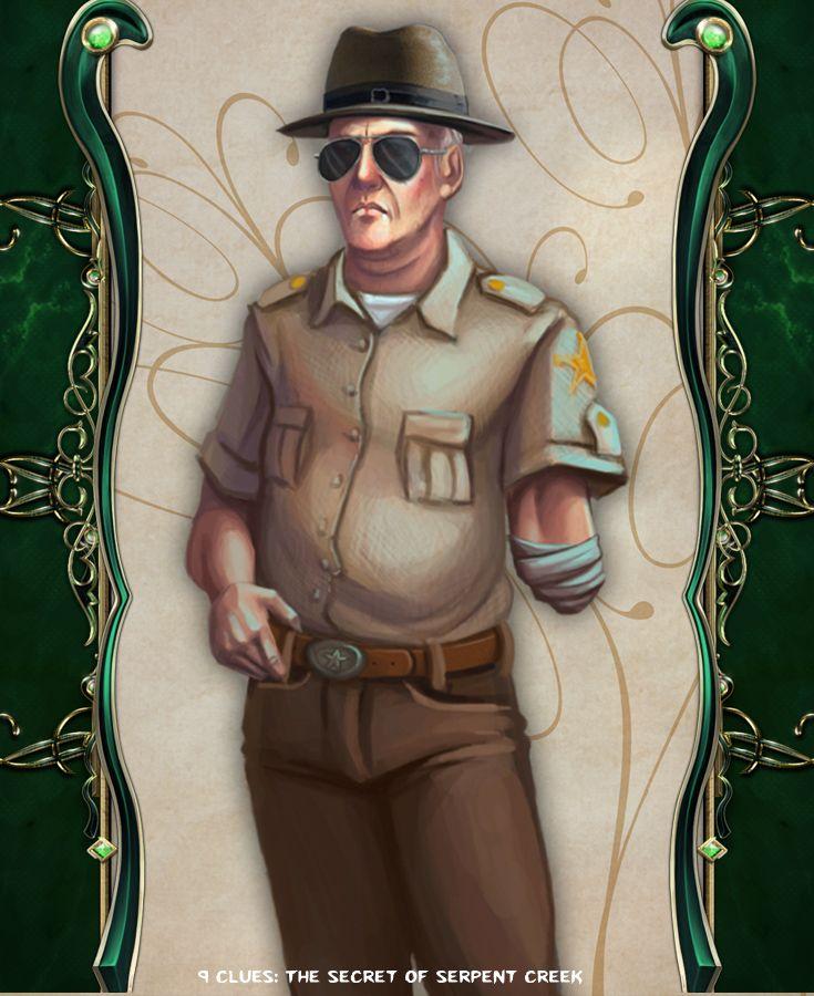 Sheriff Wilson #artifexmundi #tapitgames #9clues #adventure #game http://www.artifexmundi.com/page/9clues/