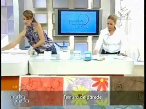 Textura - Efeito Pesinhos de Anjo 2/2 - Programa Manhã Gazeta  by Ângela...