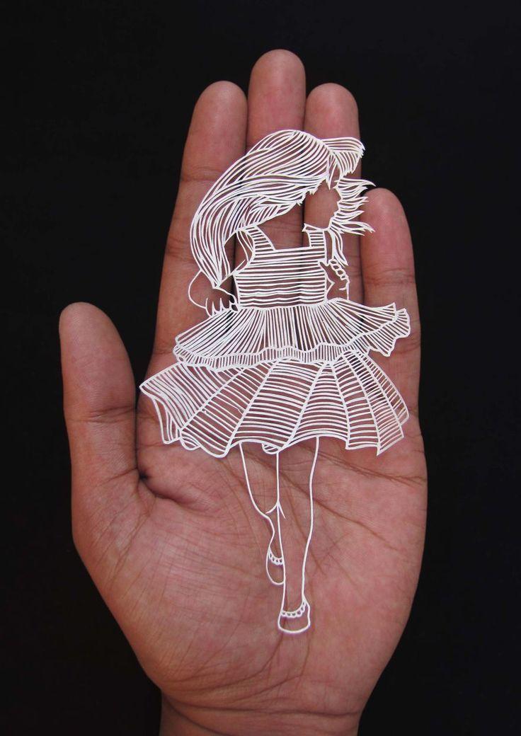 La Sculpture sur Papier de Parth Kothekar (7)                                                                                                                                                     Plus