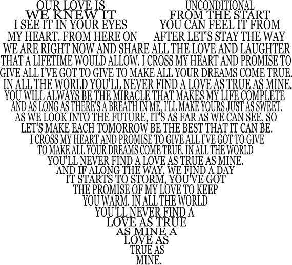 Download I Cross My Heart SVG   Love quote canvas, My heart, Heart ...