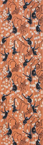 Spider monkeys by de Gournay