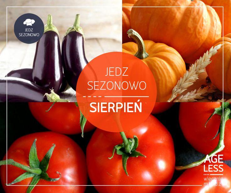 Korzystajcie z sezonowych warzyw, póki jeszcze możecie cieszyć się ich smakiem! Oprócz popularnych pomidorów, sięgnijcie także po nieco zapomniane warzywa – dynię czy bakłażana, które także mają mnóstwo właściwości odżywczych!   #ageless www.ageless.pl #wieczniemlodzi #wiecznamlodosc #sierpien #witaminy #owoce #warzywa