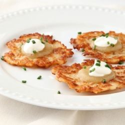 classic recipe for potato latkes | Let's Get Cooking... | Pinterest