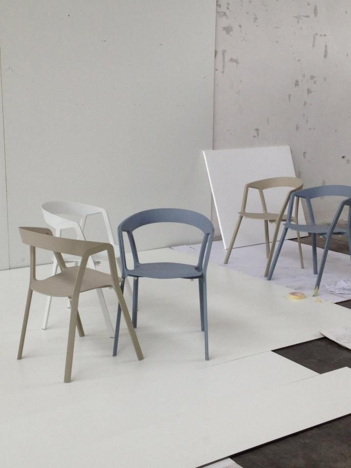 Kristalia Compas chairs